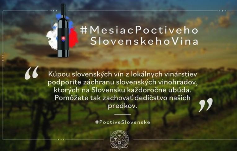 Vinohradníci a vinári Slovenska ohlasujú MESIAC POCTIVÉHO SLOVENSKÉHO VÍNA