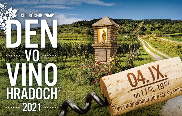 Deň vo vinohradoch® 2021 - predajné miesta vstupeniek od 23. 8.